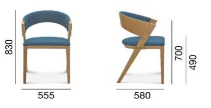 krzesło Fameg Cosy
