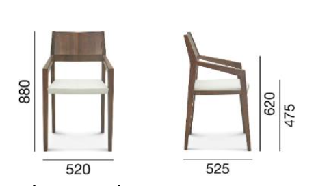 krzesło arcos fameg
