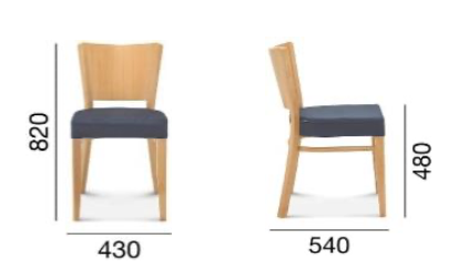 Krzesło Fameg A-0031 Tulip.3