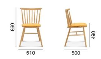 krzesło Wand Fameg A-1102/1
