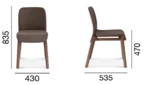 Krzesło Fameg Nod A-1620/1