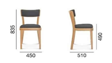 krzesło Fameg Solid A-9449/1