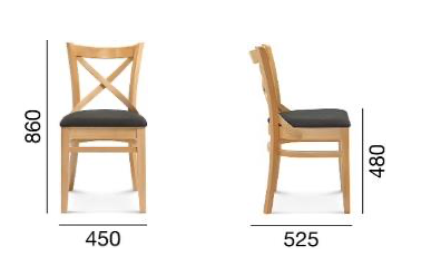 krzesło bistro fameg a-9907/2