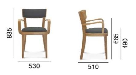 fotel fameg solid b-9449/1