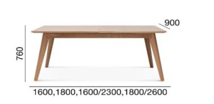 StółArcos Fameg ST-1403