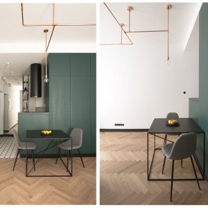 minimalistyczny stół BIG X