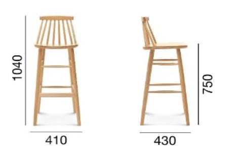 stołek barowy ust-5910
