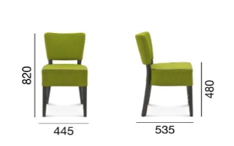 krzesło Fameg tulipan 2 A-9608/1