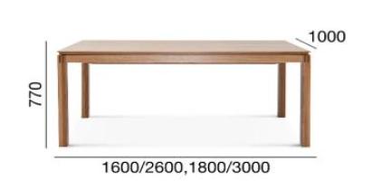 stół Ilow fameg