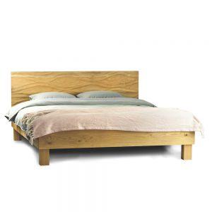 łóżko lino, łóżko drewniane