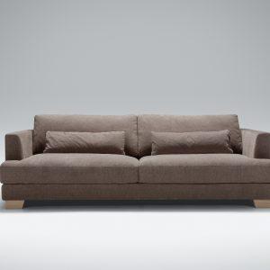 Sofa sits Brandon