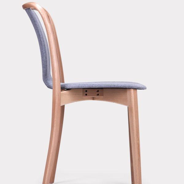 Drewniane krzesło Paged Swan B 8280 salon meblowy Szczecin