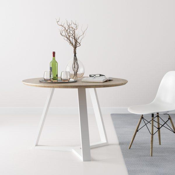 Okrągły stół Trio 110