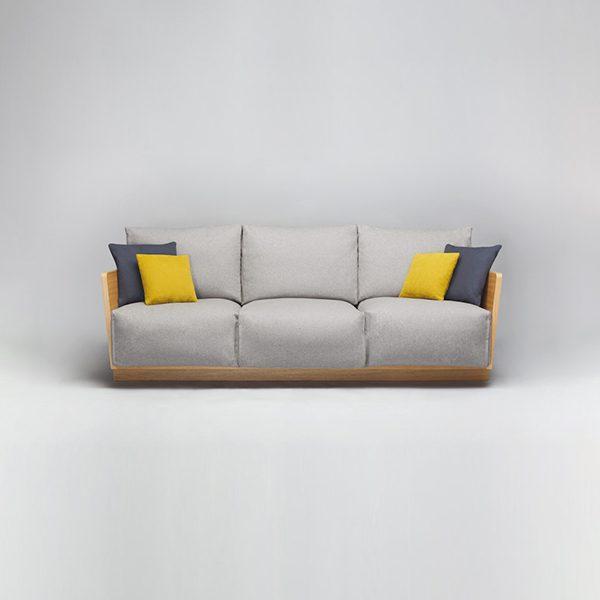 Soft Comforty szara sofa do salonu domokoncept
