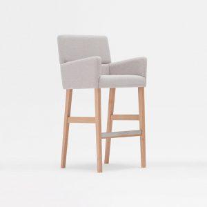 Drewniane Krzesła Barowe Hokery Salon Meblowy Szczecin